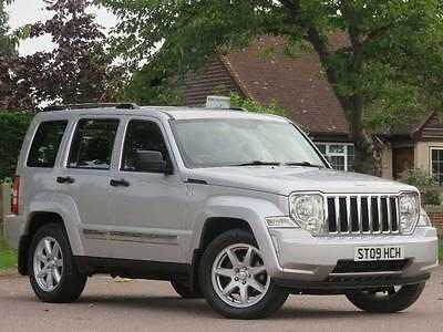 2009 Jeep Cherokee 2.8 CRD Limited Station Wagon 4x4 5dr