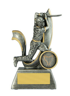 Cricket Trophy 125mm FREE Engraving 727/1BATA
