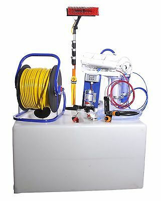Pro 500 Ltr Water Fed Pole Window Cleaning Van System