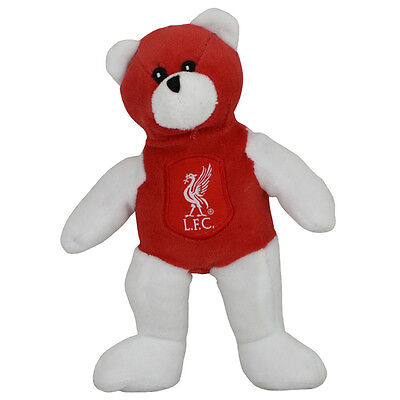 ec356dead47 Liverpool Fc Crest Soft Mini Teddy Bear Toy Contrast Kids Baby New Xmas Gift