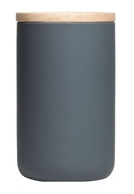 General Eclectic Tall Canister (Matte Grey)