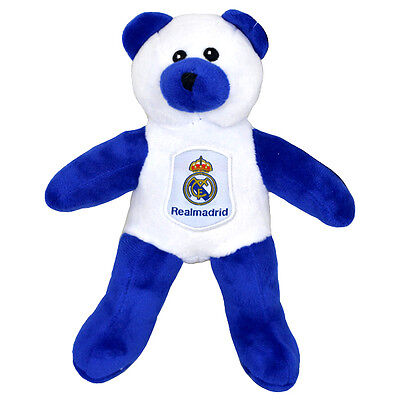 a5dfecef3c2 Real Madrid Fc Crest Soft Mini Teddy Bear Toy Contrast Baby Kids New Xmas  Gift