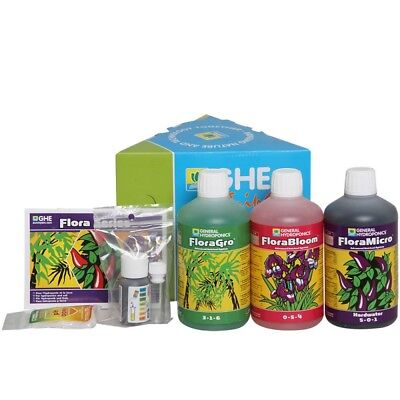 GHE FloraSeries Tripack Starter Set