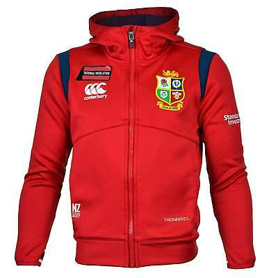 Canterbury British and Irish Lions Junior Fleece Hoody - Red