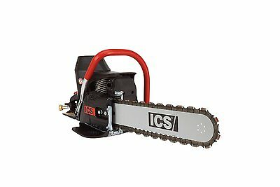 "NEW ICS - 576154 - 680ES- CONCRETE CHAINSAW w/ 12"" GUIDEBAR & TWINMAX CHAIN"
