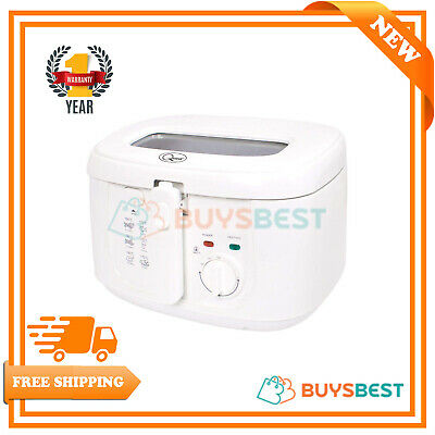 Quest Removable Thermostat Cool Touch Deep Fat Fryer, 2.5 Litre, 1800 W new