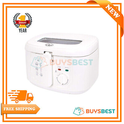 Quest Removable Thermostat Cool Touch Deep Fat Fryer, 2.5 Litre, 1800 W - 35130