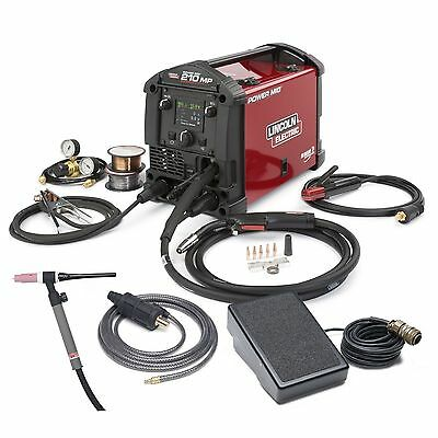 Lincoln Power Mig 210MP Multi-Process Welder TIG ONE-PAK K4195-2
