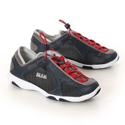 Slam Scarpa Uomo New Weekend Nr.43 Navy/red 2016  Barca - Vela - Surf - Citta'