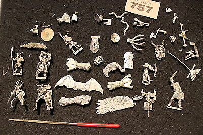 Games Workshop Warhammer Metal Figures Job Lot Spares Bundle Mixed Army Bits GW