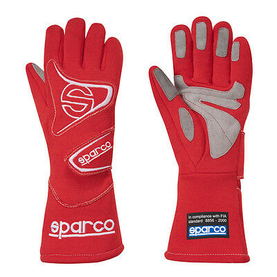 Sparco Flash 3      Auto Racing Gloves   Red    Size X Large       SFI/FIA