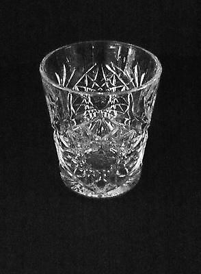 Vintage LIBBEY USA Clear Hobstar Pattern Water Tea 10 ounce Tumbler Glass