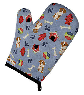 Carolines Treasures  BB2685OVMT Dog House Collection Brittany Spaniel Oven Mitt