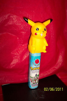 Pokemon Pikachu Spin Pop Candy Holder