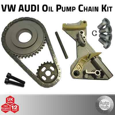 VW Audi A4 A6 Passat 2.0 TDi Oil Pump Chain Kit incl. Crank Sprocket - BLB etc.
