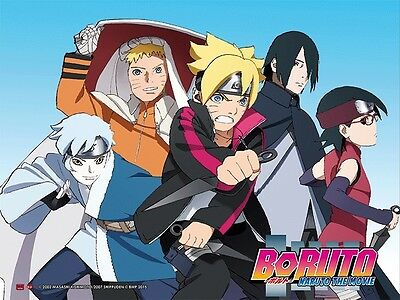 Boruto: Naruto the Movie Key Art 3D Lenticular Wall Art Poster Picture YA3D0004