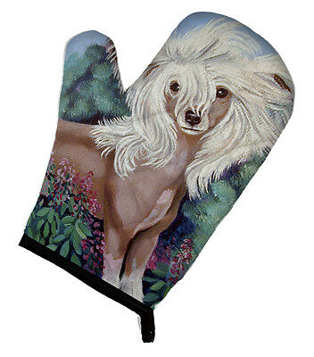 Carolines Treasures  7052OVMT Chinese Crested Oven Mitt