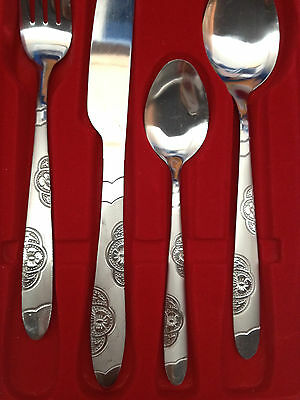 Brand New 24Pcs Windsor Stainless Steel Cutlery Family Dinner Set E