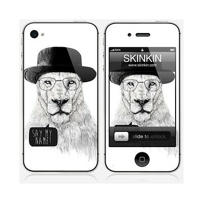 Sticker iPhone 4  : Say my name par Soltib