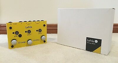 Lehle D.Loop SGoS guitar effects FX pedal looper switcher boost - PRICE DROP