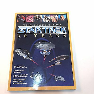 1996 Star Treck Special Collectors Edition 30 Years Book with Poster