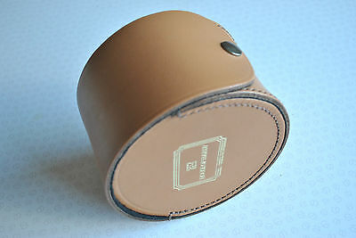"A Superb Large Possibly Unused Hardy Leather ""the International Club"" Reel Case"