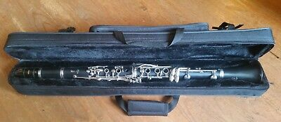 Clarinet Case - Full Length, with Carry Strap.  No Need to Take it Apart!