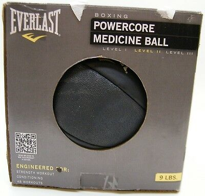 Everlast 9Lb 9 Pound Boxing Powercore Medicine Ball Level Ii Abs Conditioning