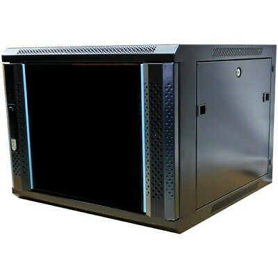 "6RU 19"" Wall Mount Cabinet  600mm Wide x 450mm Deep"