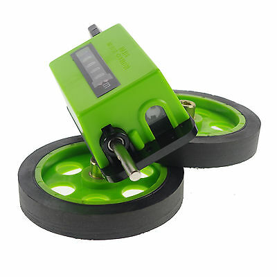 Mechanical Length Counter Meter Counter Rolling Wheel Drive Ratio:1:3