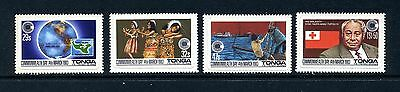 TURKS & CAICOS   MNH   558a  Strip4    Commonwealth Day      EC158