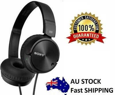 Sony MDRZX110NC New 95% Noise Cancelling Stereo Headphone Black Gift Retail Box