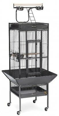 Bird Cage Pet Birdcage House Parrot Finch Cockatiel Stand Parakeet Macaw Aviary