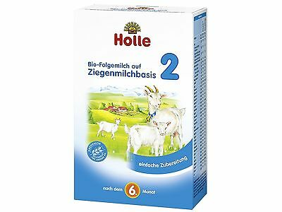 Holle Organic Goat Milk Stage 2  (400g) FAST SHIPPING. Expires 06/30/2020