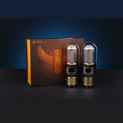 Shuguang Hi-End Nature Sound Series 211-T Vacuum Tubes Matched Pair Brand New