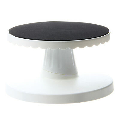 Rotating Icing Revolving Cake Tilting Turntable Decorating Stand Platform DT