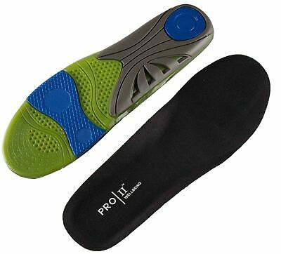 Pro11 Sport-X design gel insole added support for Impact and everyday use