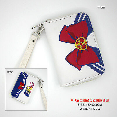Anime PU Short Wallet/Zipper Purse/Coin Purse/Zero Wallet of Sailor Moon