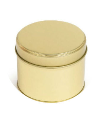 Gold Candle tins 200ml Perfect for creating your own bespoke Container Candles