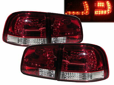 TOUAREG MK1 2002-2010 LED Feux Arrieres RED/CLEAR for VW Volkswagen