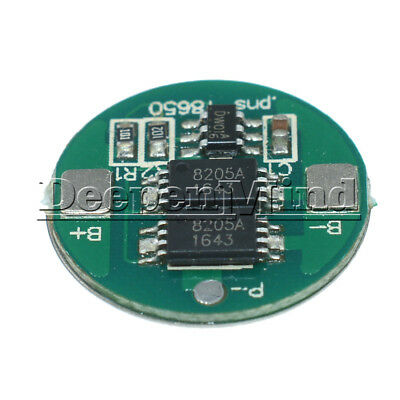 Dual MOS Battery Protection Board For 18650 Lithium Battery