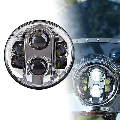 7inch Cree LED Headlight 80W H/L Beam Projector Light For Harley Motorcycle