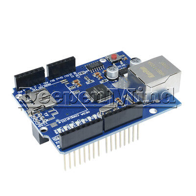 W5100 Ethernet Shield Board Module For Arduino UNO R3 ATMega 328 1280 Mega 2560