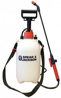 Spear and Jackson Pump Action Pressure Sprayer, 5 L