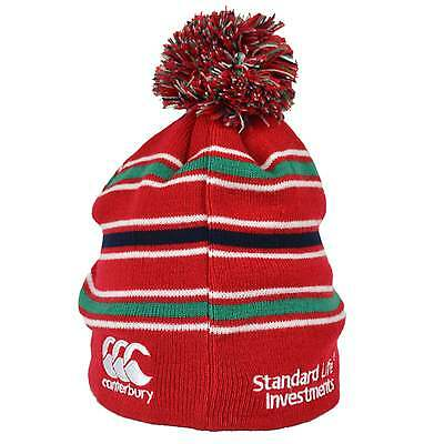 Canterbury British and Irish Lions Acrylic Bobble Hat - Red