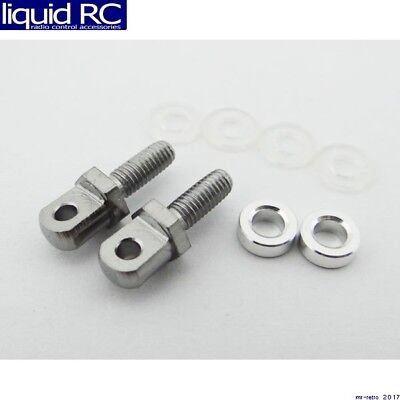 Hot Racing ACC808E08 1/10 Scale Tow Shackles Ez Mount (2)