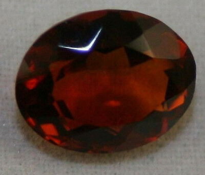 Natural Madeira Red Citrine Loose Gem 8X10 Faceted Oval Cut 2.3Ct Gemstone Ci6B