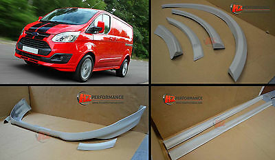 New Shape Ford Transit Custom Sport Upgrade Bodykit Swb - Primed