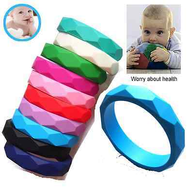 Silicone Baby Teether Teething Necklace Jewelry Bangle Bracelets Fashion