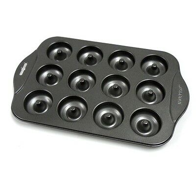 NORPRO NONSTICK MINI DONUT PAN Doughnut Mould 12 Piece NP3980 N